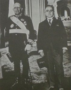 Agustín P. Justo y Getulio vargas (presidente de Brasil)