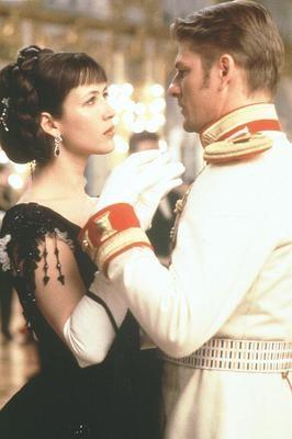 Anna e Vronsky na versão de 1997