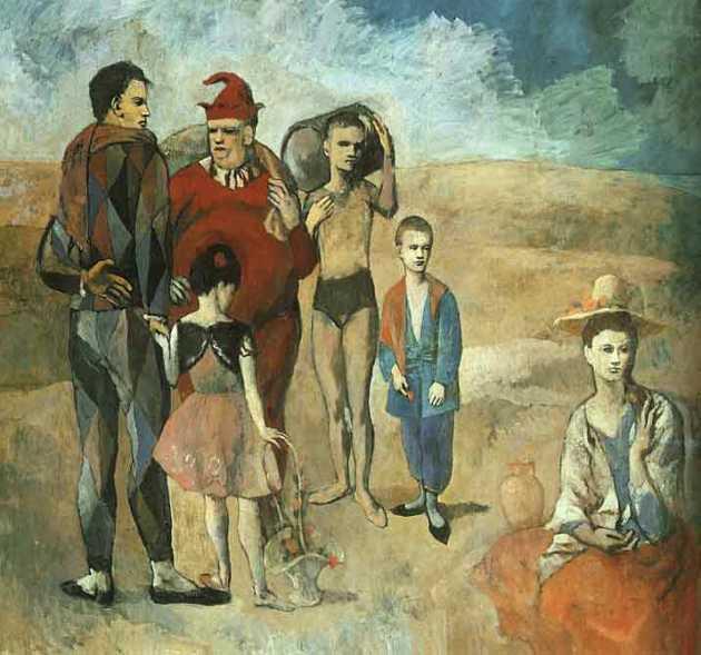 Pablo Picasso, Les saltimbanques, 1905