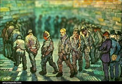 Vincent van Gogh, Prisoners Exercising, 1890
