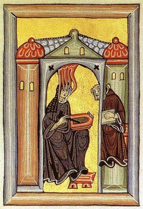 Iluminura: as visões de Hildegard