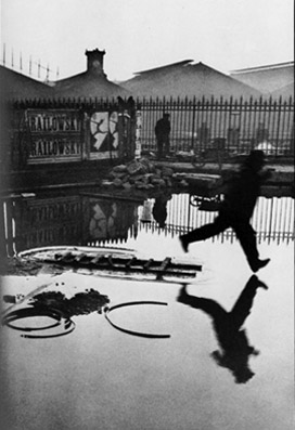 O instante e a perfeita reflexividade entre os elementos da imagem de Cartier-Bresson